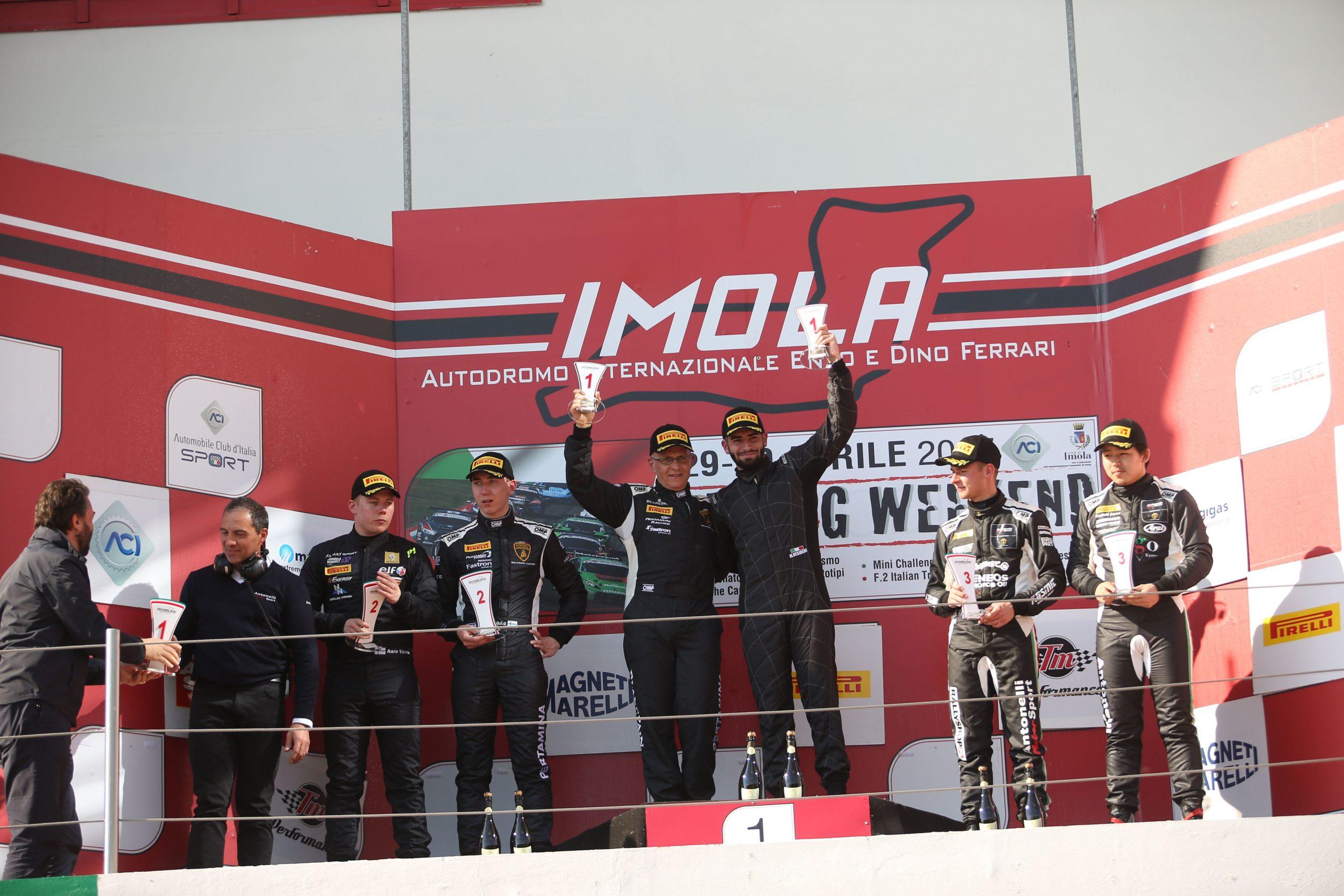 Gara 2 podio S.GTCup