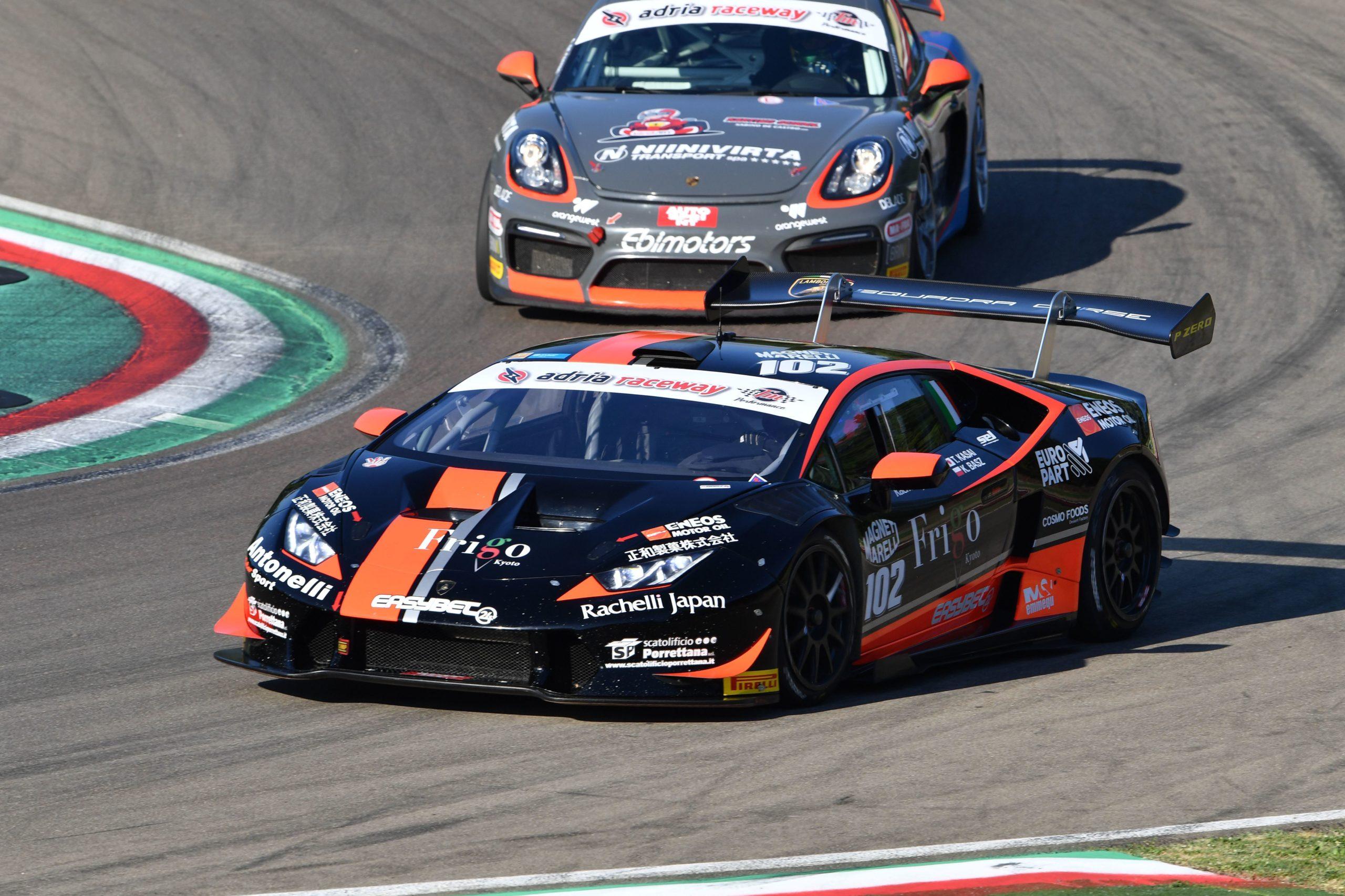 Karol Basz (Antonelli Motorsport,Lamborghini Huracan-S.GTCup #102)