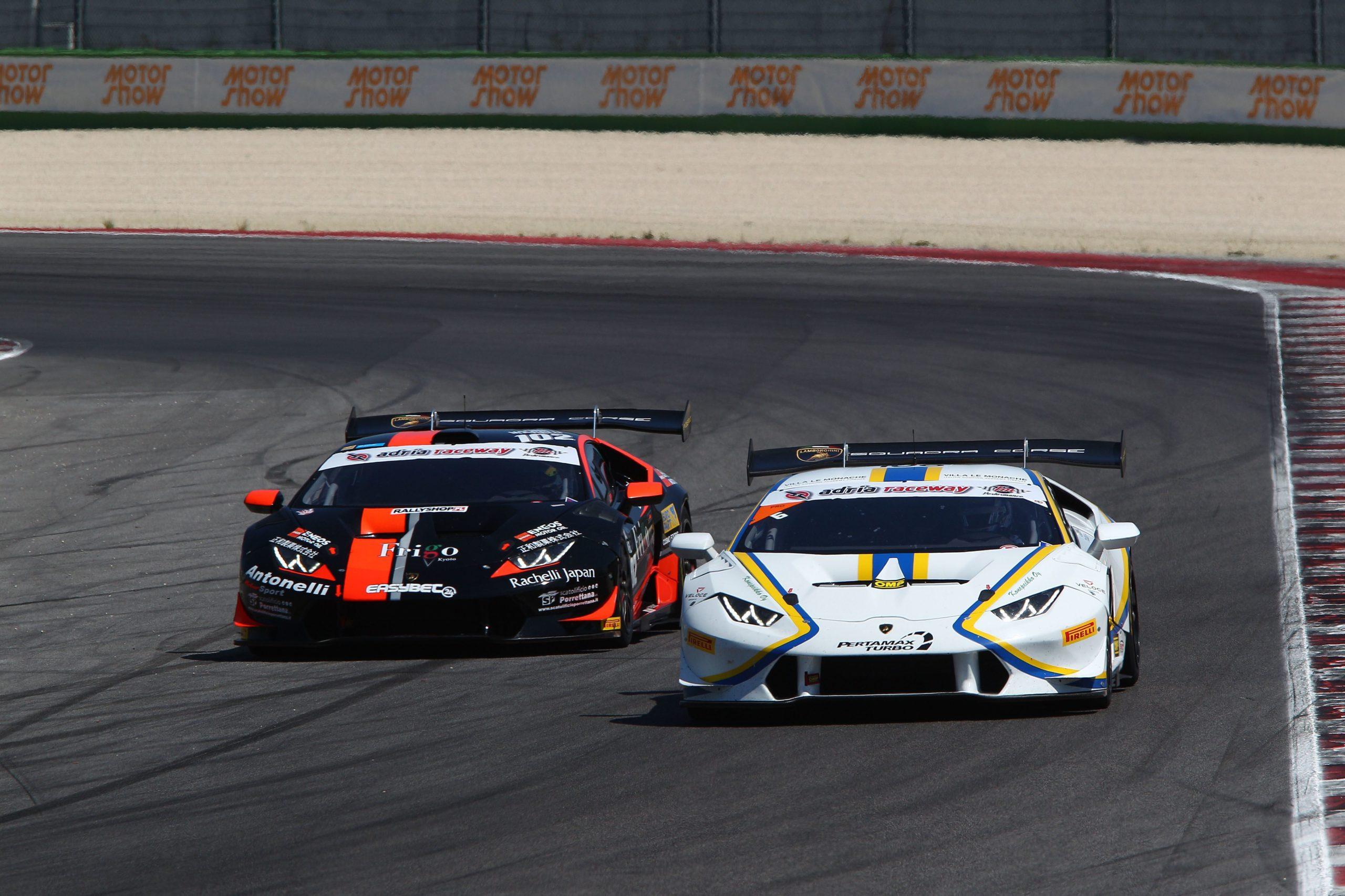 Vainio-Tujula (Vincenzo Sospiri Racing,Lamborghini Huracan-S.GTCup #106)